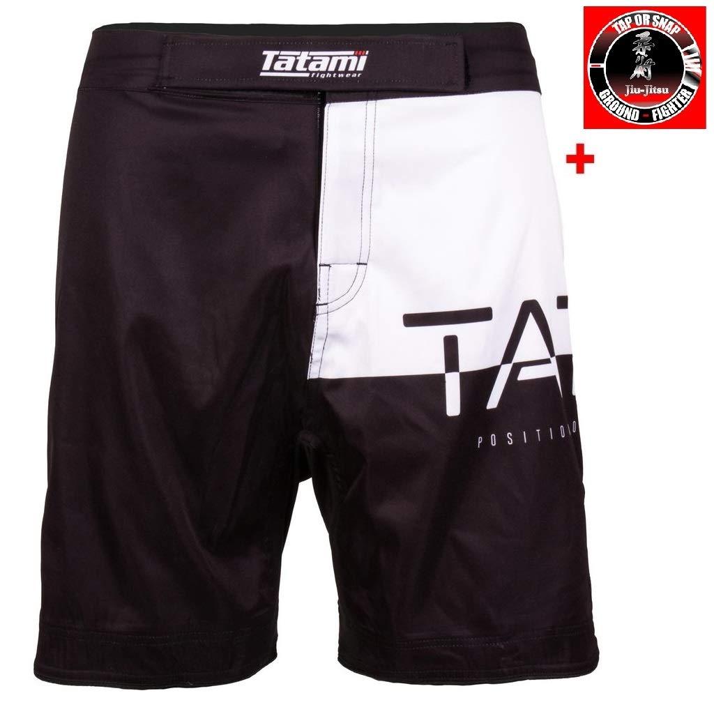 Tatami No Gi Jiu Jitsu Shorts 50/50 - MMA Fight Fitness No Gi Grappling Jiu Jitsu Shorts Kurze Kampfsporthose für Herren - Von der  1 BJJ Marke
