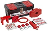 Brady Personal Valve Lockout Kit, Padlocks Not Included
