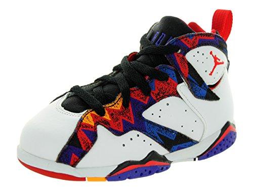 Nike Jordan Toddlers Jordan 7 Retro BT White/Unvrsty Rd/B...