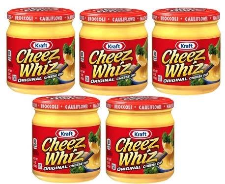 Kraft Cheez Whiz Original Cheese Dip, 15 oz Jar by Kraft Cheese