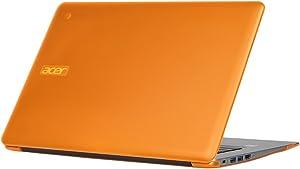 "iPearl mCover Hard Shell Case for 14"" Acer Chromebook 14 CB3-431 Series Laptop (Orange)"
