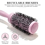 Hair Brush Set for Women - Detangling Brush, Round