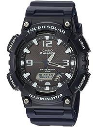 Mens AQ-S810W-2A2VCF Tough Solar Analog-Digital Display Dark Blue Watch