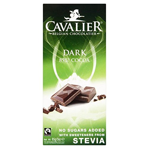 Cavalier Dark Chocolate Bar - 85g (Cavalier Chocolate compare prices)