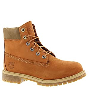 "Timberland 6"" PREMIUM Kids Toddler-Youth Boot 4 M US Big Kid Orange"