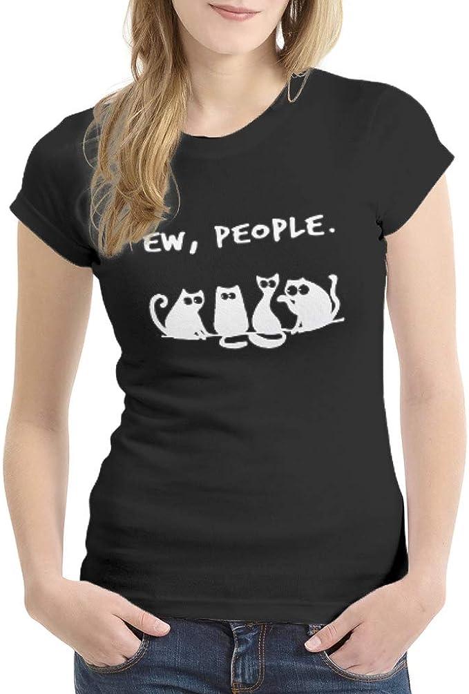 Ainiteey Ew People Cat Negro Gráfico Varios Tipos Dry Fit ...