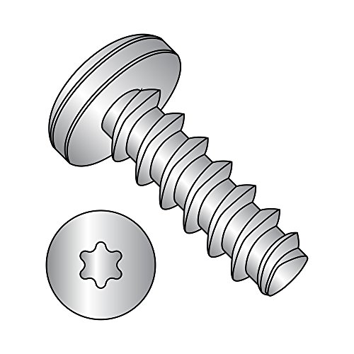 Passivated Finish Phillips Drive Pack of 50 Pack of 50 #4-20 Thread Size 5//16 Length 18-8 Stainless Steel Thread Rolling Screw for Plastic Small Parts 0405LPP188 Pan Head 5//16 Length