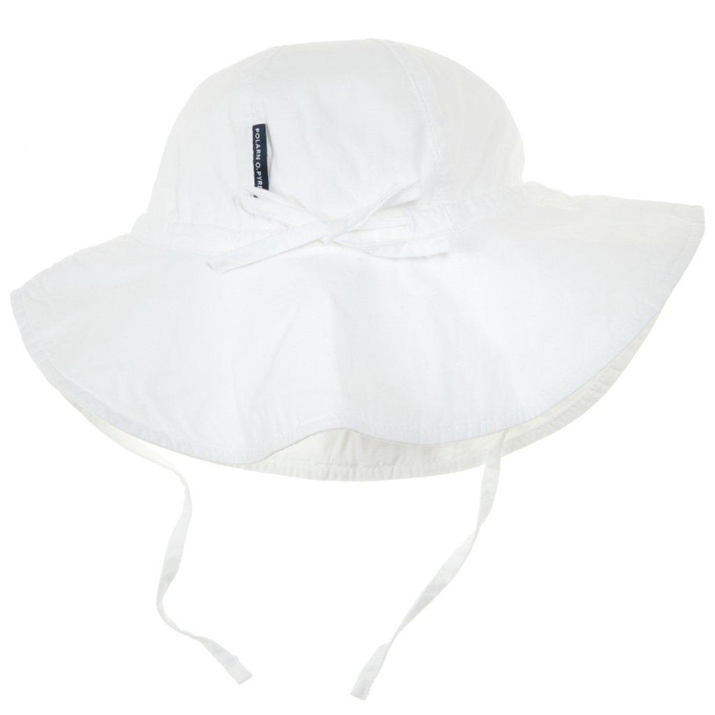 Polarn O. Pyret HAT ベビーガールズ B00D4PDZJQ 4-9 Months|ホワイト ホワイト 4-9 Months