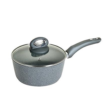 WSAD Multifuncional Bebé Leche Caliente Olla De Sopa, La Olla De Cocinar Antiadherente,20Cm