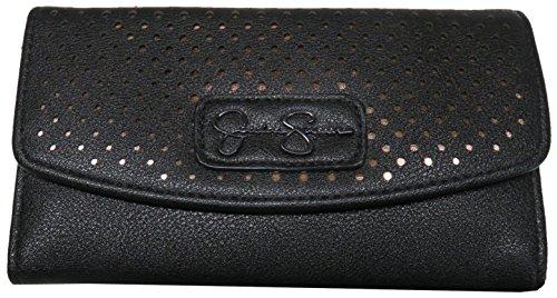 Jessica Simpson Women's Frankie Wallet Black Wallets