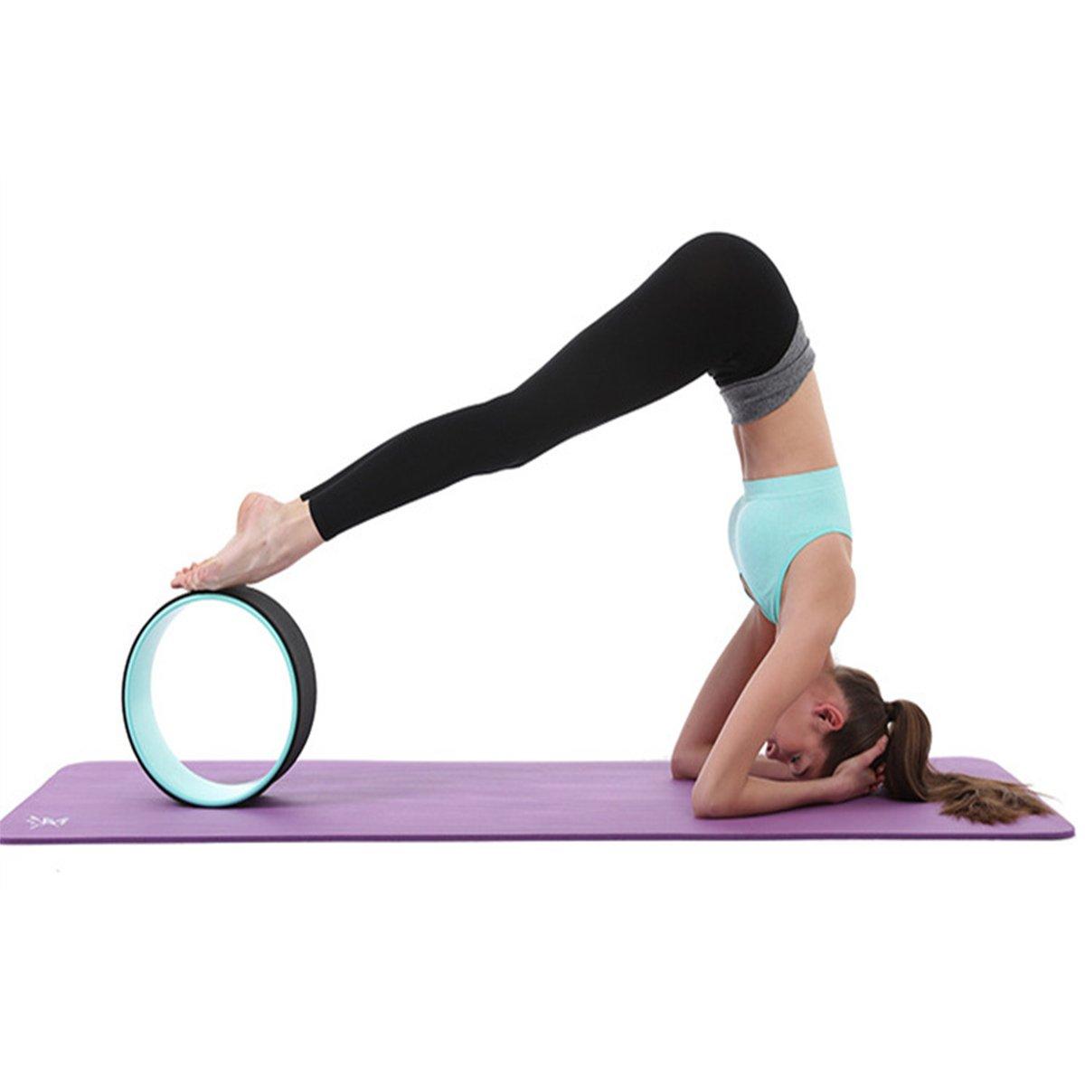 Yoga rueda más cómodo yoga Prop Dharma rueda, accesorio ...