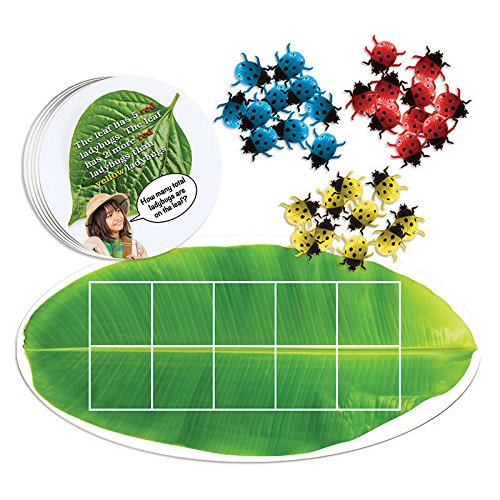 Essential Learning Products Ladybug Ten-Frame Math Aid