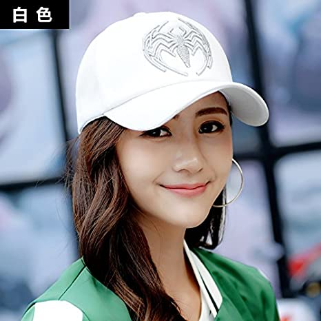 Amazon.com: The Summer Spring Mens Casual hat Peaked Cap hat Couple Baseball Cap,White: Kitchen & Dining