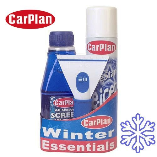 CarPlan NA41551 Winter Essential Car Care Travel Kit Car Plan