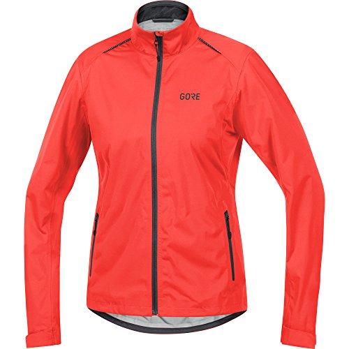 GORE WEAR 100041 - Chamarra Impermeable para Ciclismo para Mujer (Talla 40), Color Amarillo neón y Blanco