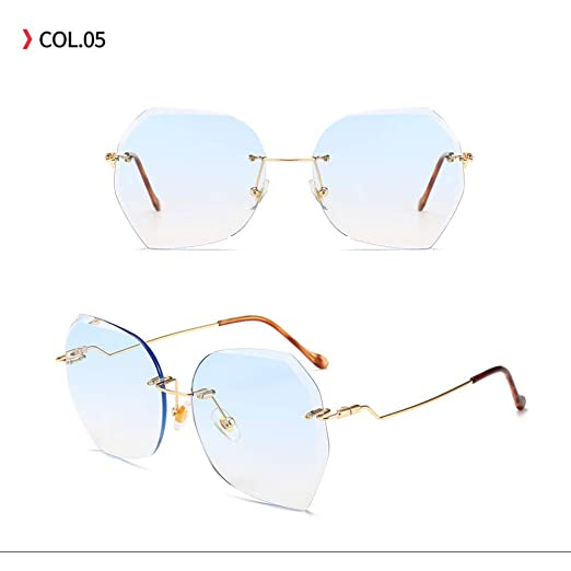 Yangjing-hl Gafas de Sol de Tendencia Gafas de Sol ...
