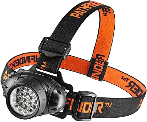 PATHFINDER 21 LED Headlamp Headlight Head Torch – Lightweight,...