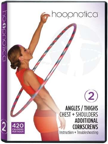 Hoopnotica Fitness Hoopdance Hula Hoop DVD Level 2 (Beginner)