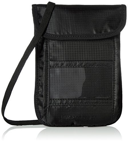 AmazonBasics Travel Stash Wallet Black