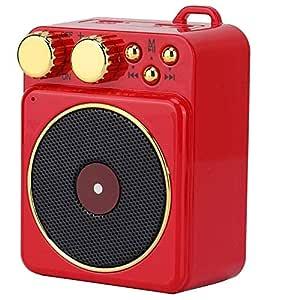 XiaoZou Altavoz Bluetooth, Reproductor de Radio FM, Recepción de ...