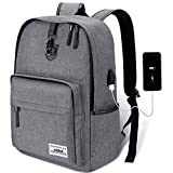 Anti Theft Backpack,Laptop Backpack School Backpack 35L with USB Charging Port for Men&Women by AUGUR