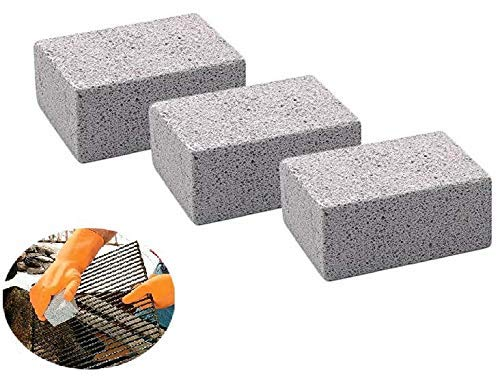 Clean Stone Grill Stone Pumice Stone Cleaning Clean Brick Grill Brick Grill Cleaner Griddle Cleaner Griddle Stone Cleaning Block Reusable Ecological Grill Cleaning Brick For 3 - Clean Brick