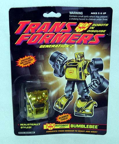 Transformers Generation 2 Bumblebee