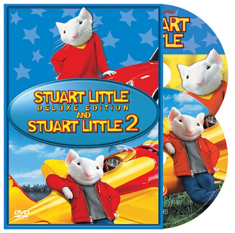 Amazon Com Stuart Little Deluxe Edition Stuart Little 2 Michael J Fox Geena Davis Hugh Laurie Jonathan Lipnicki Nathan Lane Chazz Palminteri Steve Zahn Jim Doughan David Alan Grier Bruno Kirby Jennifer Tilly Stan