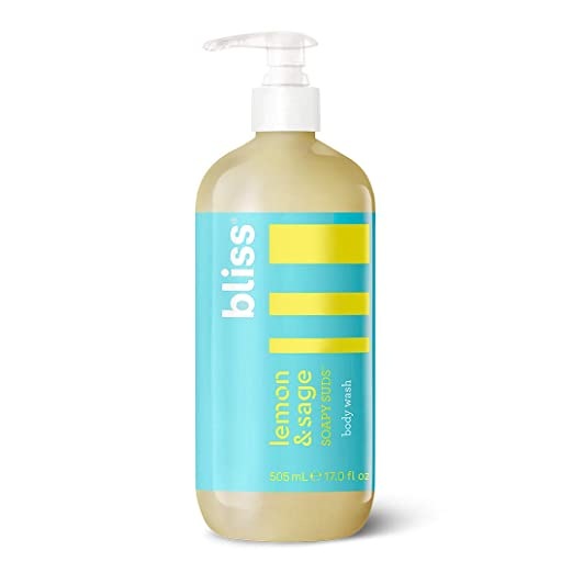 Bliss Lemon & Sage Soapy Suds Body Wash   Gentle & Hydrating for Supremely Soft Skin