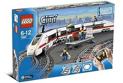 Lego City 7897 Passagierzug Set Amazonde Spielzeug