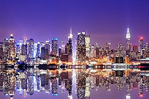 7x5ft New York city empire state building Backgrounds High-grade portrait cloth Computer printed Scenery photo backdrop DD-Nt14876701