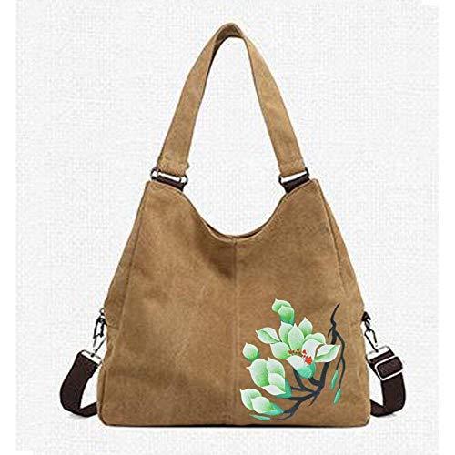 Dipinte Multifunzione Di In Canvas Pack Tote Crossbody Viaggio B Shopping Casual Dello Yunnxi Borsa 8cpfXxwqgp