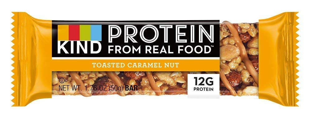 KIND Healthy Grains Granola Bars, Toasted Caramel Nut, 1.76 oz (24 Bars)