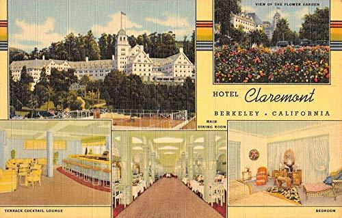 Berkeley California Hotel Claremont Multiview Antique Postcard K103919