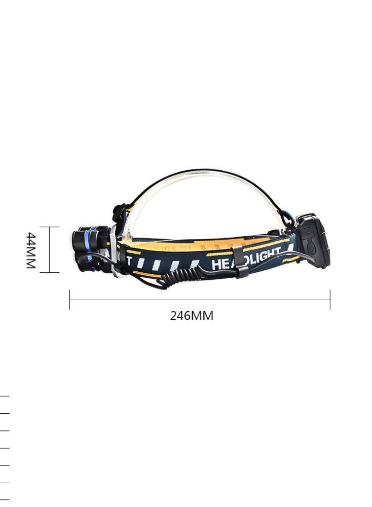 MYJ 6Led Starke Scheinwerfer, Wiederaufladbare Wiederaufladbare Wiederaufladbare Taschenlampe Für Den Außenbereich, Aluminiumlegierung  Abs-Scheinwerfer B07KCX1LK1 | Reparieren  d3aa3c