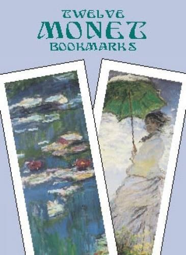 Twelve Monet Bookmarks (Dover Bookmarks) (Monet Van Gogh)