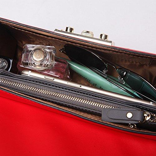 Messager Chaîne Main Sac De à WLFHM Sac Red Serrure Dames Sac épaule De Carré Petit Embrayage Yfvxq1xw