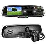, Review of Master Tailgaters OEM Rear View Mirror with 4.3″ Auto Adjusting Brightness LCD + Auto Dimming Mirror – Universal Fit