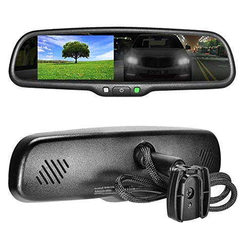 (Master Tailgaters OEM Rear View Mirror with 4.3