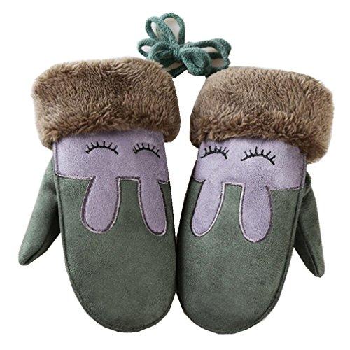 45db1c58d1e3 Jual Kids Toddler Baby Boys Girls Winter Warm Mittens Cute Thicken ...