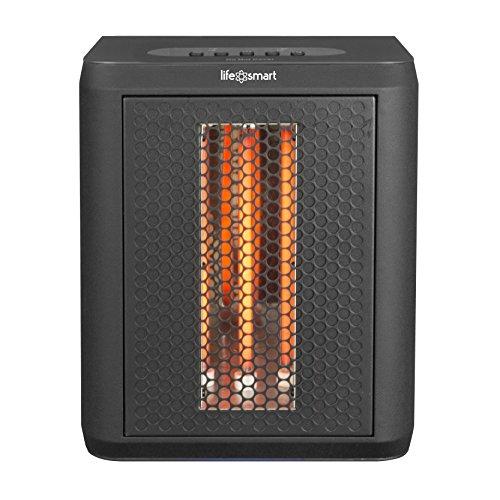 LifeSmart MCHT1120US Tabletop Infrared Heater Fan, -