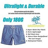 MaaMgic Mens Swim Trunks Quick Dry Swim Shorts with