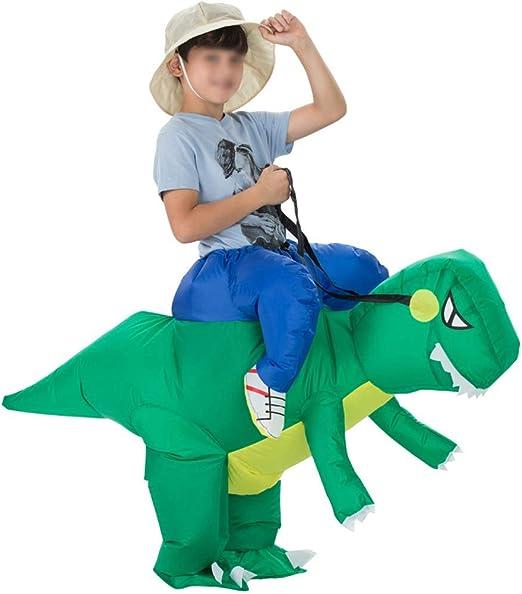 Julyfun Dinosaurio Inflable, Disfraz Inflable para Halloween y ...