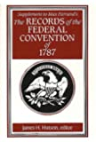Supplement to Max Farrand's Records of the Federal Convention of 1787 (v. 5)