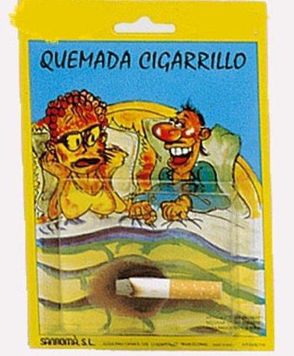 S. romá - Quemadura cigarro