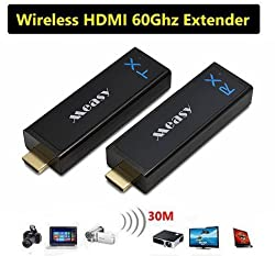 Wireless Hdmi Transmitter And Receiver Kit Measy W2h Nano Wireless Hdmi 60ghz Wireless Hdmi Transmitter Receiver Extender 1080p Kit For Laptop Pc