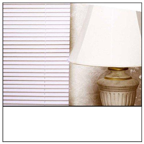 *PARA NIÑOS* Blanco EASYFIT PVC persianas venecianas * Estor disponible embellecedor 45 cm a 210 cm, hasta 210 cm de golpes y en color negro blanco y crema ...