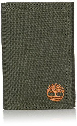 Timberland Mens Nylon Trifold Wallet