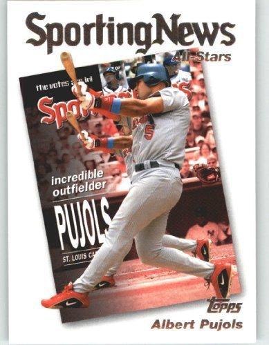 Albert Pujols Baseball - 2004 Topps Baseball Card # 723 Albert Pujols AS (All Stars) St. Louis Cardinals - MLB Trading Card
