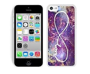 Nebula Infinity Love Galaxy Apple Iphone 5C Case White Cover WANGJING JINDA